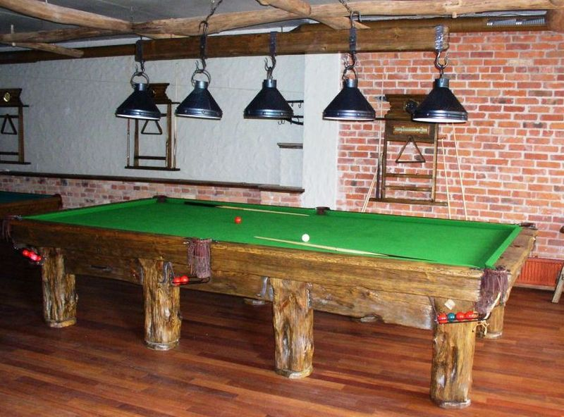Hand Crafted Rustic Pool Table For Log Home Cabin Flagstaff Furniture For Sale Flagstaff